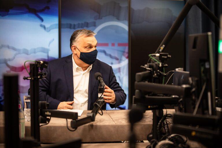 Orbán: tudom, hogy szabad nyarunk lesz, közelítünk a szabadság felé