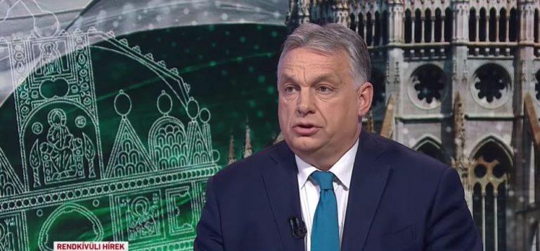 Orbán: két és fél millió beoltottnál húztuk meg a határt