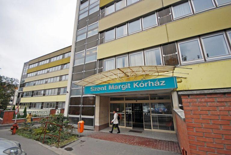 Tűz ütött ki a budapesti Szent Margit Kórházban