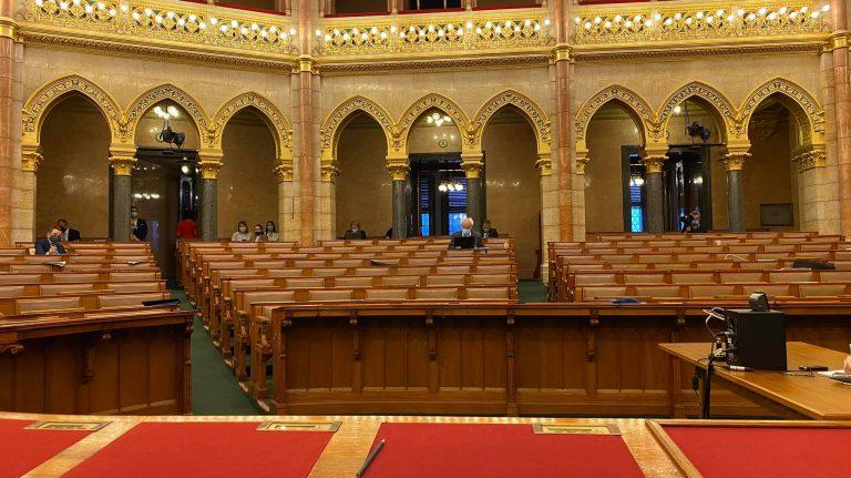 Kiürült a Parlament az egyetemek kiszervezéséről szóló vitájára