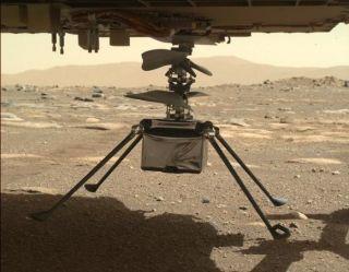 Elhalasztotta Mars-helikoptere reptetését a NASA műszaki gond miatt