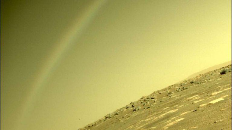 Marsi szivárványnak hitték, de nem az