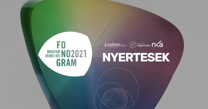 Átadták a 2021-es Fonogram-díjat