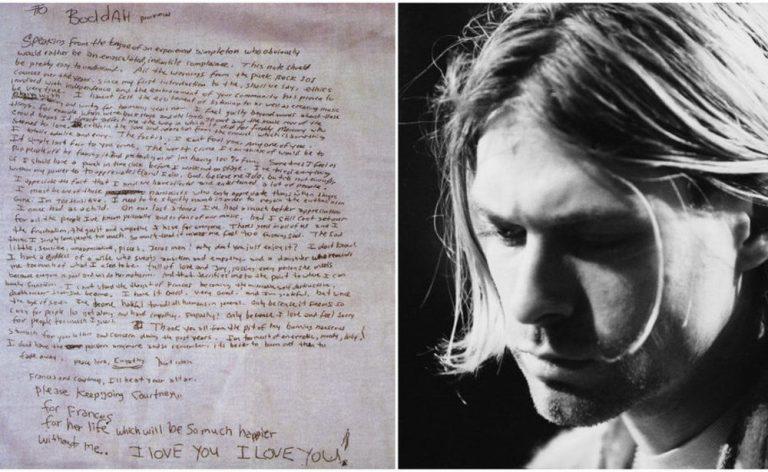 27 éve, 27 évesen halt meg Kurt Cubain