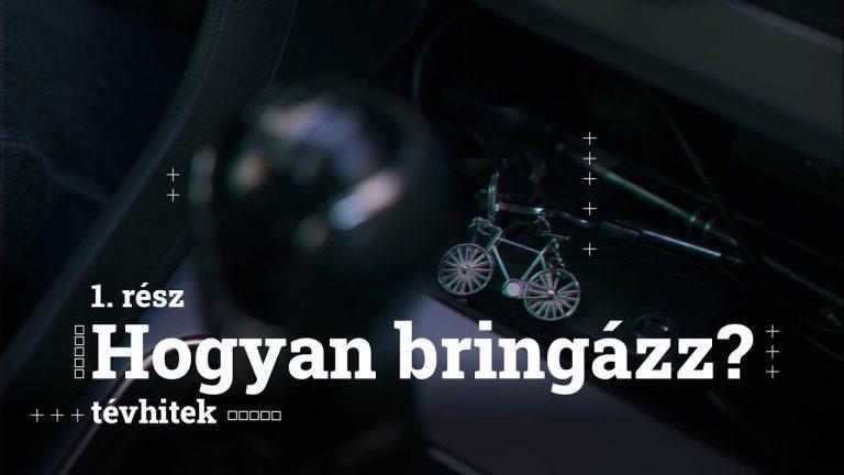 A Magyar Kerékpáros klub videósorozattal tanítana meg biciklizni helyesen