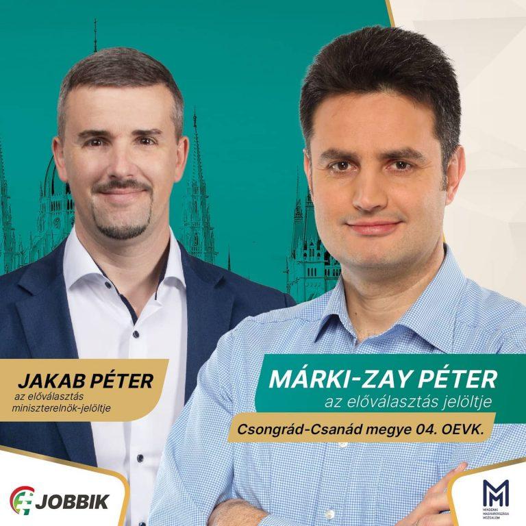 Márki-Zayt támogatja a Jobbik Hódmezővásárhelyen