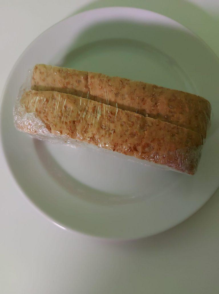 Két szelet kenyér volt a kórházi reggeli