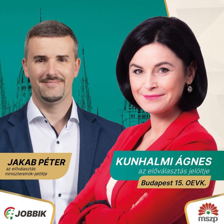 Kunhalmi Ágnest támogatja a Jobbik az előválasztáson
