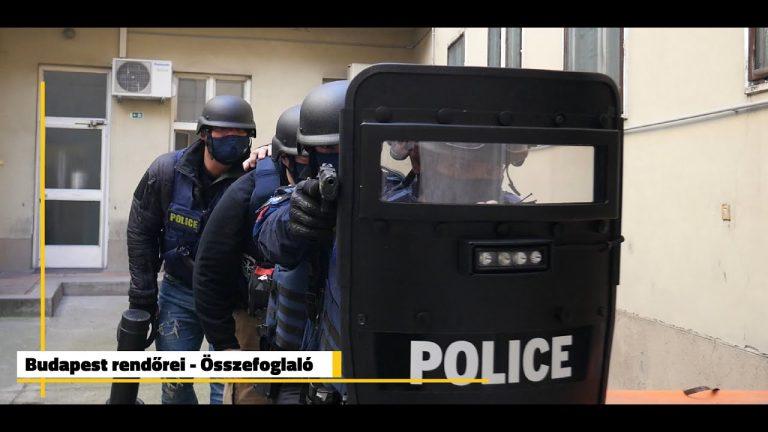 Így dolgoznak a budapesti rendőrök – Videó