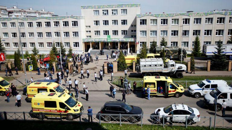 Hét gyermek és egy tanár is életét vesztette egy iskolai lövöldözésben Kazanyban