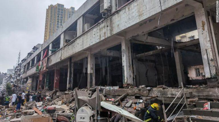 Gázrobbanás történt Közép-Kínában, legalább 12-en meghaltak