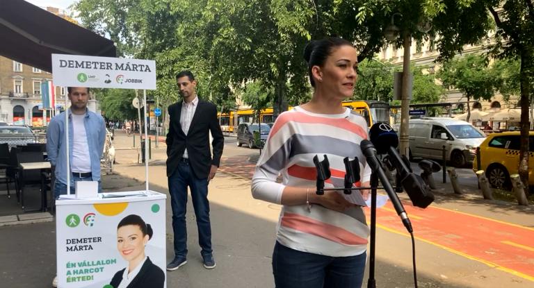 Demeter Márta: nem telik el nap Fideszes lopás nélkül