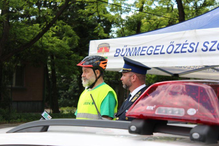 """Elindult a rendőrség """"Bikesafe"""" sorozata a XVI. kerületben"""