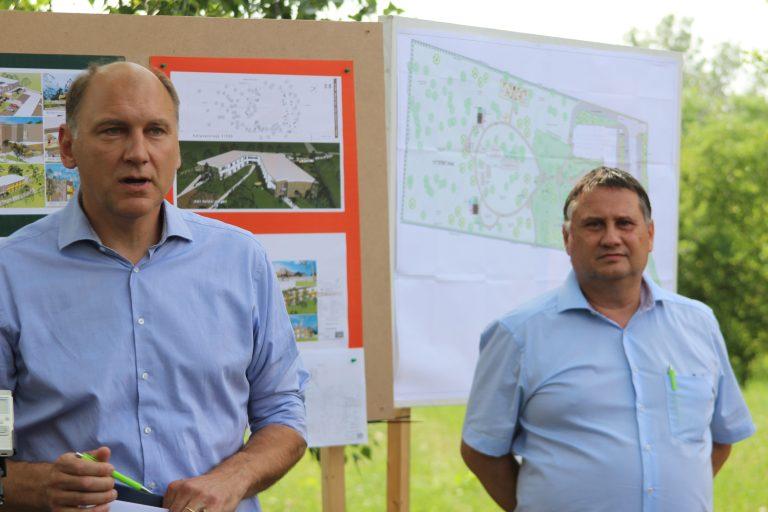 Nyugdíjas otthon és park lesz a Csobaj-bánya egyik területén, kisebb fa veszteség ellenében