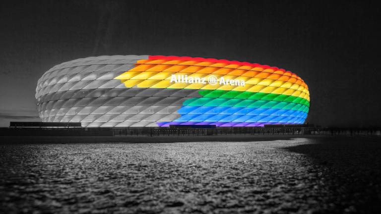 Nem lesz szívárványszínű a müncheni Allianz Arena