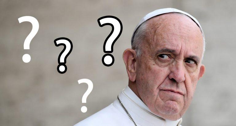 Mi van most akkor a pápa látogatásával?