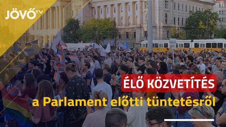 🔴Élőben a Kossuth téri tüntetésről – Propagandatörvény helyett elfogadást!
