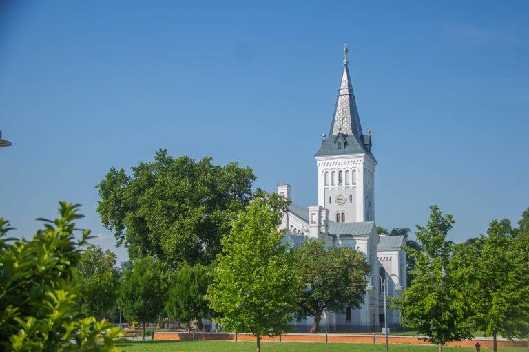A templom, ami köré a hajdúk fővárosa épült