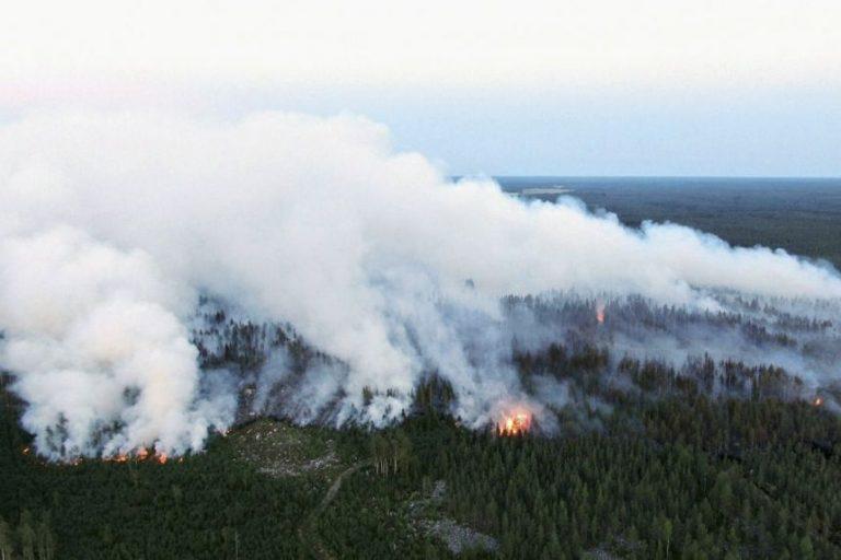 Az elmúlt fél évszázad legsúlyosabb erdőtüzével küzd Finnország