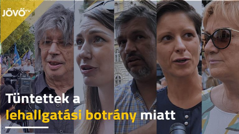 Magyarország legnagyobb lehallgatási botránya miatt tüntettek