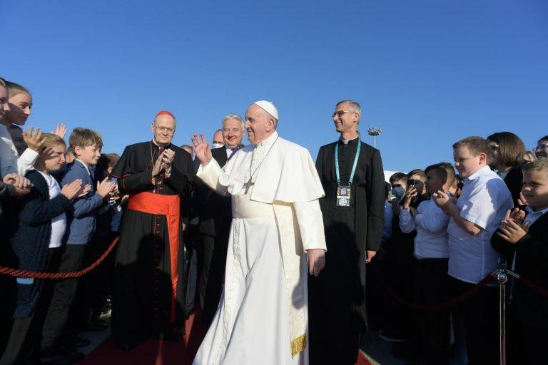 Itt van Ferenc pápa teljes záróbeszédje